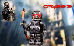 LEGO Crysis 3 - Prophet (MGF Customs/Reviews) Tags: 3 lego cell suit bow figure alcatraz alpha custom predator nano prophet ceph crysis brickforge