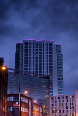 Neon roof.jpg (davymacflick) Tags: dusk magichour 500px yahooweather