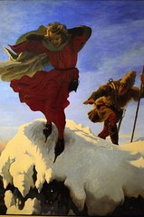 Manfred on the Jungfrau (-1861) (bodythongs) Tags: uk england rescue mountain men art english museum painting manchester jump nikon gallery poem wind fine suicide arts victorian musée peinture canvas collection painter oil gb despair angleterre cape hunter byron manfred jungfrau preraphaelite beaux hogarthian d5100 bodythongs