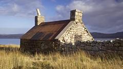 Old Croft, Loch Eriboll (Christopher Swan) Tags: blue winter orange scotland rust decay highland croft melancholy sutherland locherribol