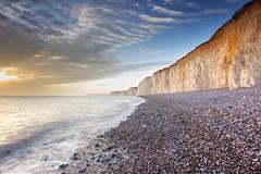 Birling Gap and Seven Sisters (Alan MacKenzie) Tags: landscape sussex chalk cliffs sevensisters birlinggap leefilters