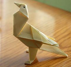 Origami Ku - Bird (erdoganakman) Tags: animal paper origami hayvan kat