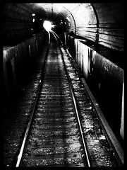 light at the end (Barry T Allen) Tags: railroad