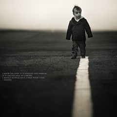 I know the path... (Sylvain_Latouche) Tags: nikon quote path gandhi alix d800 200mmf28 sylvainlatouche