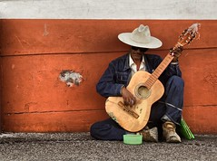 Guitar Man (Ken Yuel) Tags: sunglasses mexico streetperformer puertovallarta guitarman blindmusician kenyuel