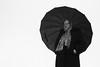 Rainy street shot #2 (guido.masi) Tags: blackandwhite bw woman umbrella canon eos florence donna firenze biancoenero ombrello 550d guidomasi