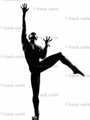 man dancer dancing (Franck Camhi) Tags: ballet man black male classic muscles silhouette modern cutout one 1 dance dancing muscular african fulllength performance handsome style dancer whitebackground agility topless afroamerican balance grayscale performer graceful oneperson stylish greyscale oneman agile