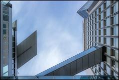 RZB (TheOtherPerspective78) Tags: vienna wien blue windows sky money building architecture modern canon cross fenster himmel bank architektur series pancake blau gebude serie stadtpark geld 1030 landstrasse zentralbank crossways raiffeisen eosm rzb theotherperspective78 efm22mm