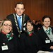 Michael Vaughan, IHF President with some of the TMDP Students that joined us on Tuesday 5th March.