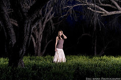 The Ground is Alive (Eric Binns Photography) Tags: arizona portrait woman southwest fashion forest model branches mesquite femalemodel tontonationalforest offcameraflash pocketwizard