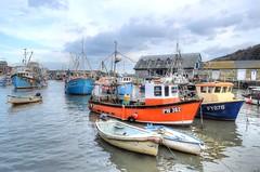 Mevagissey harbour (Baz Richardson) Tags: boats coast cornwall fishingboats harbours mevagissey fishingport cornishharbours