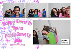 2013-02-23 Kiana & Jada's Birthday - Collages (SNAP! Studio Booth) Tags: birthday wedding party studio kiana photo orlando sweet events rental snap service fl sixteen thirteen jada photbooth snapstudiobooth wwwsnapstudioboothcom