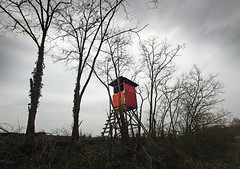 jgerstand 1 (Bilderschreiber) Tags: tower seat hunting htte hut hunter huntingtower jagen unterstand jgerstand jagdsitz