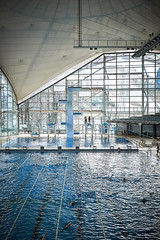 The Sunbath (cszar) Tags: water pool architecture swimming germany munich mnchen deutschland bavaria nikon nikkor olympiastadion d600 2470mmf28g captureone7