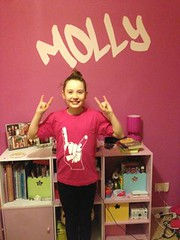 """Pink horns T by MOLLY • <a style=""""font-size:0.8em;"""" href=""""http://www.flickr.com/photos/77052536@N05/8600603604/"""" target=""""_blank"""">View on Flickr</a>"""
