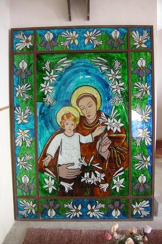 TECHIRGHIOL - Catholic Church: Icon on Glass