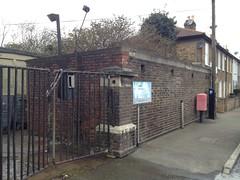 air raid shelter, Drayton Road, Croydon (looper23) Tags: uk england london march air ww2 raid shelter blitz croydon drayton 2013 uploaded:by=flickrmobile flickriosapp:filter=nofilter