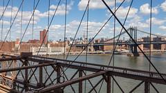 Brooklyn Bridge (Robert Wash) Tags: nyc newyorkcity newyork brooklyn manhattan brooklynbridge manhattanbridge eastriver empirestatebuilding midtownmanhattan