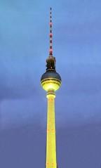 Berlin Fernsehturm - 4 (lemoncat1) Tags: berlin germany alexanderplatz fernsehturm coldwar televisiontower