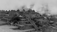 Little fortress in the clouds (Charlie2012RTW) Tags: sky mountains peru machupicchu caminodelinca