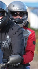 Bike and scooter chicks wearing helmets (anjaschmidt1982) Tags: woman girl leather helmet gear motorcycle biker helmets