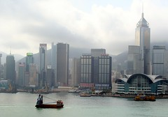 Morning View to HK Island from Kowloon (zorro1945) Tags: china hk hongkong morninglight asia hongkongisland victoriaharbour morningcloud fragrantharbour flickrtravelaward
