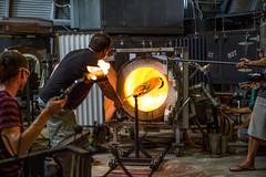 White Hot Kiln (hawaiiansupaman) Tags: hot glass canon fire hawaii oven flames maui blow heat kiln bake makai haliimaile