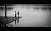 So This is Fishing (Beachhead Photography) Tags: friends bw water sport fishing dock relaxing pole recreation piling fishingpole cmwdblackandwhite artlegacy beachheadphotos