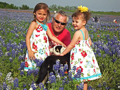 Easter Dresses - 8659 (miss_betty2012 (not available much)) Tags: family blue colors easter children landscape spring texas tx wildflowers ennis bluebonnets lupine bluebonnettrails