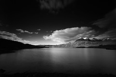 Loch Torridon (Dave Smith) Tags: bw ndfilter lochtorridon 10stopfilter leebigstopper ds:camera=eos5dmarkii ds:source=camera