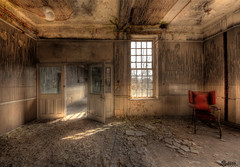 'A photograph is a secret about a secret. The more it tells you the less you know' Diane Arbus (Sshhhh...) Tags: abandoned decay wheelchair urbanexploration asylum derelict severalls