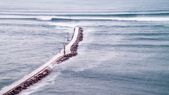 Espign de Cucha. Miengo. Cantabria. Spain (Photopeter71) Tags: longexposure sea water mar spain paisaje nd olas largaexposicin lansdcape espigon largaexposicion miengo