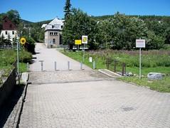 Deutsch-tschechische Grenze bei Loucna Oberwiesenthal (Maukando) Tags: deutschland border tschechien ddr borderline erzgebirge staatsgrenze grenzübergang grenze cssr oberwiesenthal bozidar grenzlinie loucna