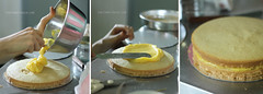 Lemon-Lemon Drop Cake Step 9 (clapanuelos) Tags: cake baking lemon celebration layercake