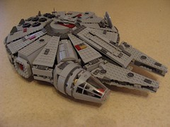 Faucon 7965 - Modification 01 (Mikolaj1205) Tags: lego faucon modifications 7965