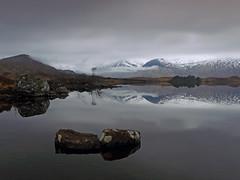 EAU NATUREL (explore) (kenny barker) Tags: scotland day cloudy explore glencoe scottishlandscape rockpaper lochannahachlaise landscapeuk panasoniclumixgf1 kennybarker