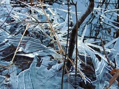 St Agathe. Ice on lake. (Yolanta Z) Tags: stagathe