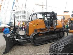 Case 1650M (Logat-682) Tags: truck germany fair case german dozer munchen bulldozer excavator raupe lkw baumaschinen bauma 2013 1650m