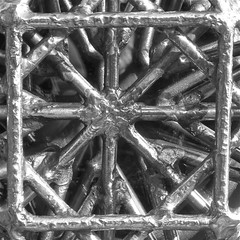 detail of a door handle at a jeweler's (muffett68 ) Tags: square doorhandle geometricshapes macromonday gorinchemnl