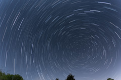 Lyrid Meteor Shower Photo Stack 99 (jsgillard) Tags: night shower timelapse tennessee nightsky meteor shelbyville northstar meteorshower lyrid