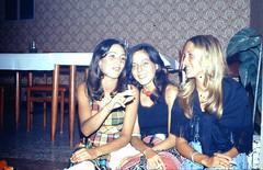 3 Nice Girls, circa 1974 (STUDIOZ7) Tags: girls cute women cigarette young smoking teenager 70s 1970s smoker seventies teenage