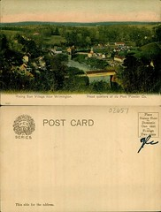 Rising Sun Village near Wilmington, head quarters of du Pont Powder Co. (Delaware Public Archives) Tags: industry water river factory business explosives