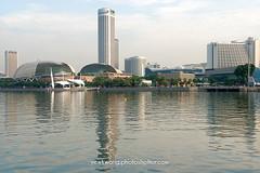 Singapore City Skyline 05 (yewkwangphoto) Tags: sea cloud seascape tourism water horizontal architecture landscape singapore asia cityscape bluesky tourist esplanade hotels banks skyscaper famouslandmark commercialbuilding placeofinterest modernbuildings modernstructure buildingstructure singaporecityskyline photocategory yewkwang photographybyyewkwang