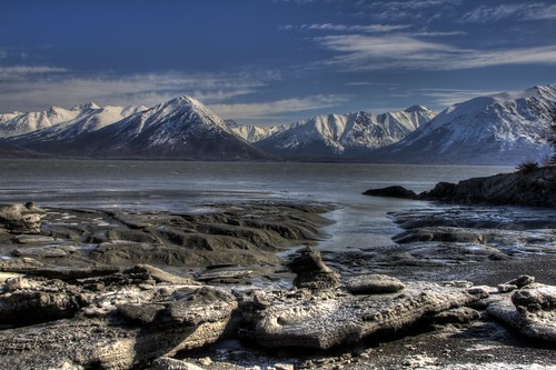 Turnagain Arm from Near Hope