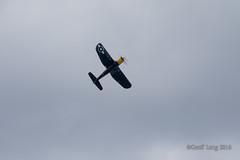 Vought F4U Corsair-19 (Clubber_Lang) Tags: airshow corsair farnborough f4u vought fia2016