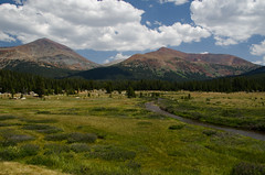 Lunch Time View (nebulous 1) Tags: lunchtimeview landscape sierranevada clouds nature mountains trees stream meadow nikon nebulous1 glene