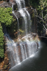 Chapada dos Veadeiros (Stella Pado) Tags: brasil gois alto paraso parque nacional da chapada dos veadeiros national park almcegas 1 cachoeira waterfall nature natureza paisagem landscape