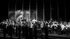 West Point Band (thetrick113) Tags: hudsonvalley hudsonrivervalley sonyslta65v westpointmilitaryacademy westpoint army longgreyline trophypoint orangecountynewyork blackandwhite westpointband summer2016 summer 2016 concert westpointbandconcert cinemamagic westpointalumiband performance performing band brass