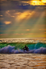 REPOST-This is the kinda day i need for a Monday :) (Sportracephoto) Tags: wave rays ocean surfer canon light