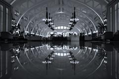 Upsidedown Symmetry (elenaleong) Tags: symmetry bw elenaleong reflections